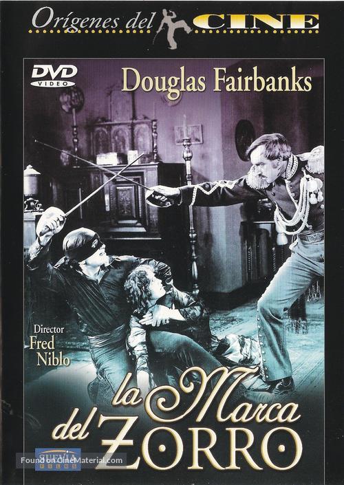 The Mark of Zorro - Spanish DVD movie cover