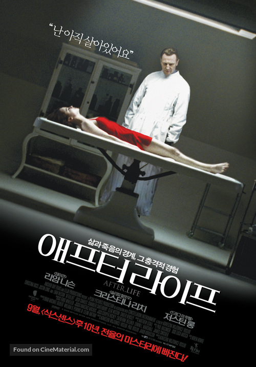 After.Life - South Korean Movie Poster