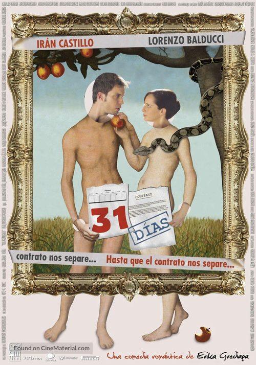 31 días - Mexican Movie Poster