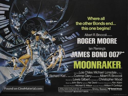Moonraker - British Movie Poster