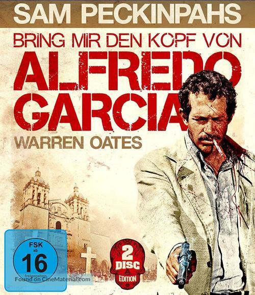 Bring Me the Head of Alfredo Garcia - German Movie Cover