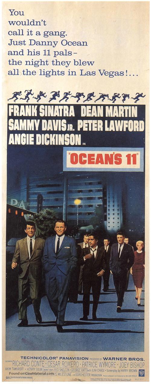 Ocean's Eleven - Movie Poster