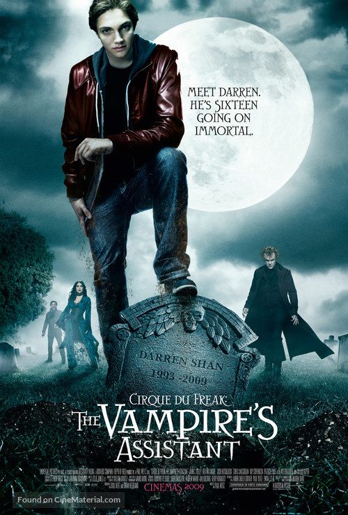 Cirque du Freak: The Vampire's Assistant - British Movie Poster