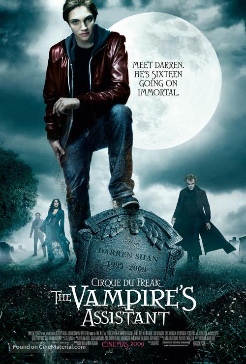 Cirque du Freak: The Vampire's Assistant - Movie Poster