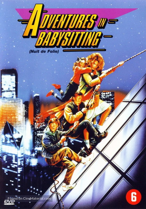Adventures in Babysitting - Dutch DVD movie cover