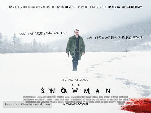 Image result for the snowman poster