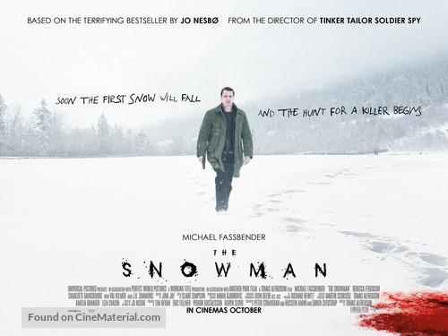 Re: The Snowman / Sněhulák (2017)