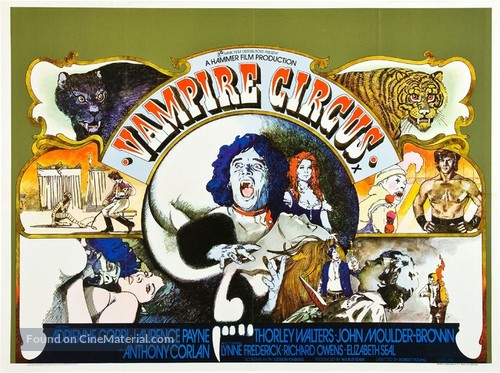 Vampire Circus - British Movie Poster