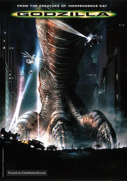 Godzilla - DVD movie cover