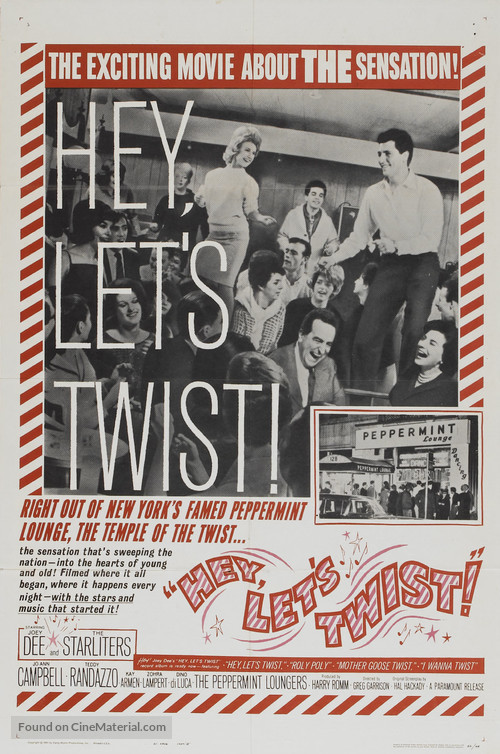 Hey, Let's Twist - Movie Poster