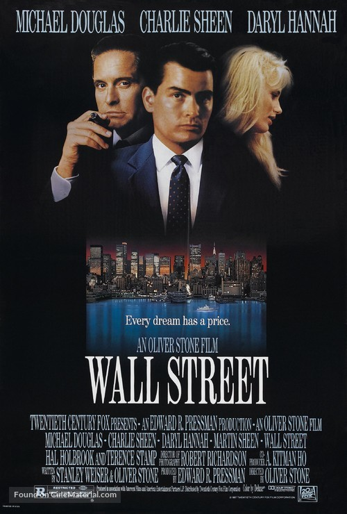 Wall Street - Movie Poster