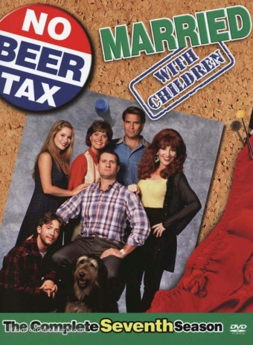 """""""Married with Children"""" - DVD movie cover"""