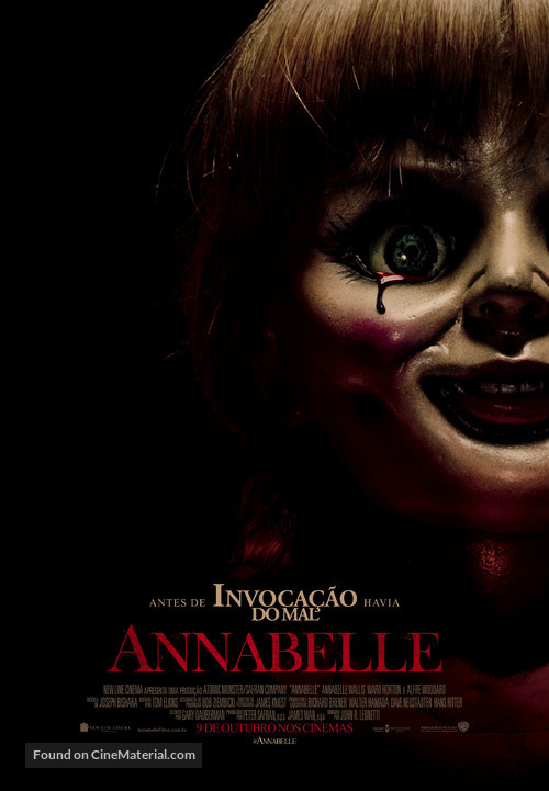 Annabelle - Brazilian Movie Poster