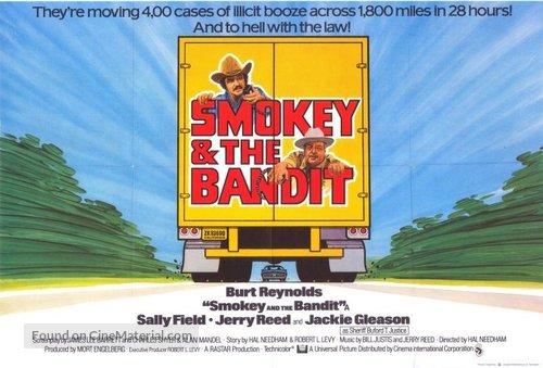 Smokey and the Bandit - British Movie Poster