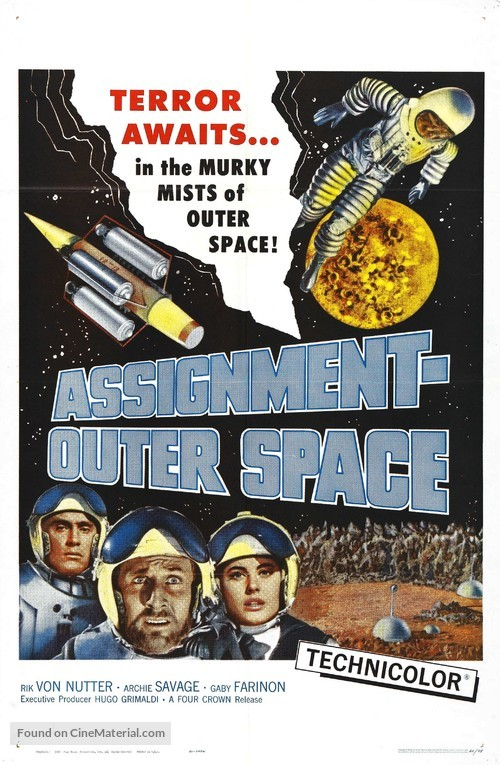 Space Men - Movie Poster