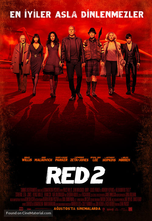 RED 2 - Turkish Movie Poster