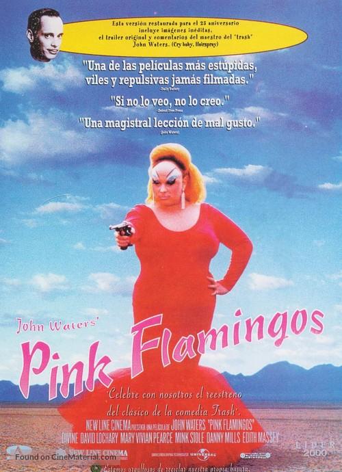 Pink Flamingos - Spanish Movie Poster