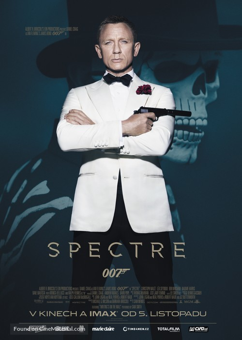 Spectre - Czech Movie Poster