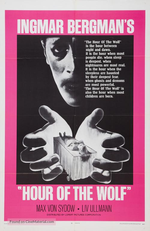 Vargtimmen - Movie Poster