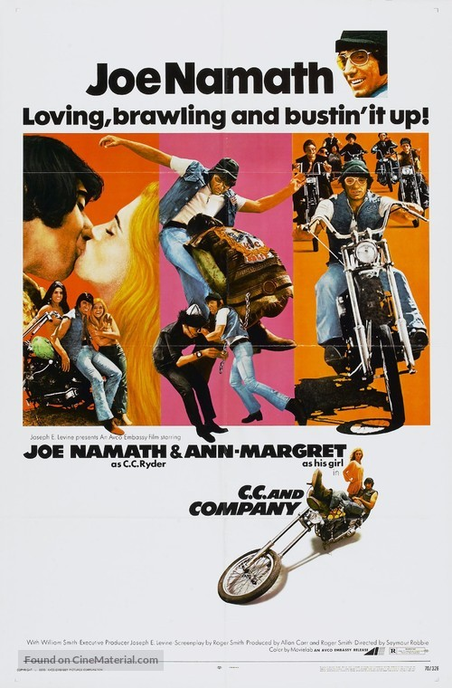 C.C. and Company - Movie Poster