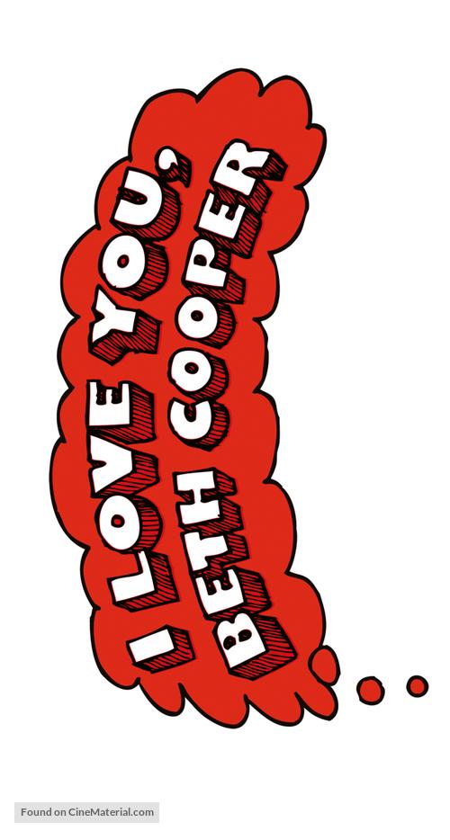 I Love You, Beth Cooper - Logo