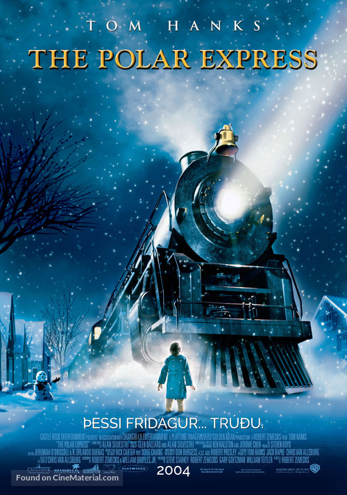The Polar Express - Icelandic Movie Poster