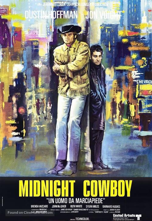 Midnight Cowboy - Italian Movie Poster