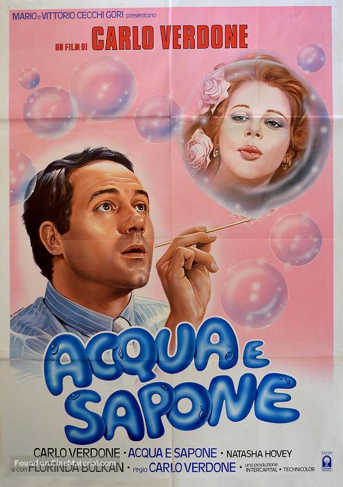 Acqua e sapone - Italian Movie Poster