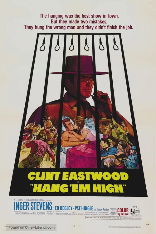 Hang Em High - Movie Poster