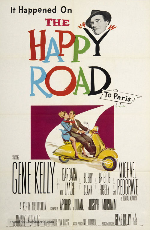 The Happy Road - Movie Poster