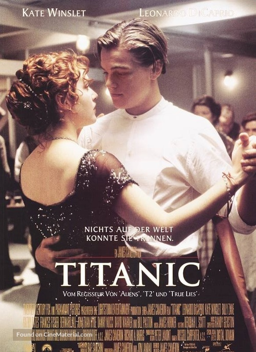 titanic german movie poster