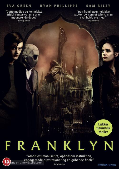 Franklyn - Danish DVD movie cover