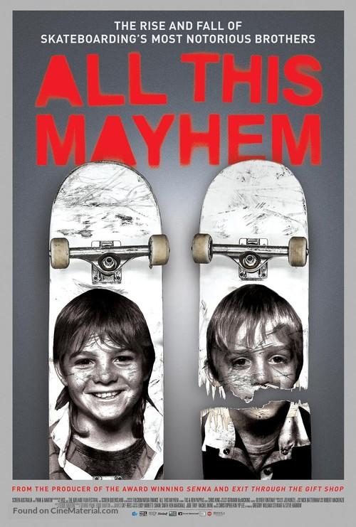 All This Mayhem - Movie Poster