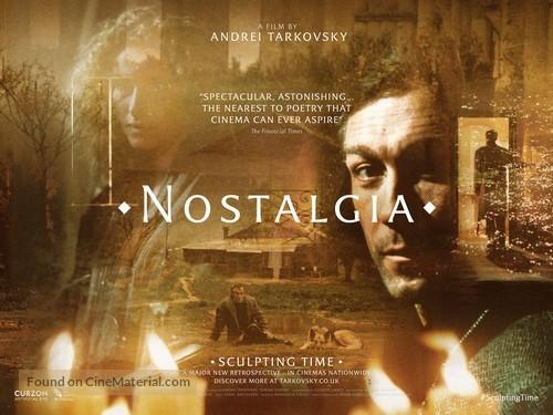 Nostalghia - British Re-release movie poster