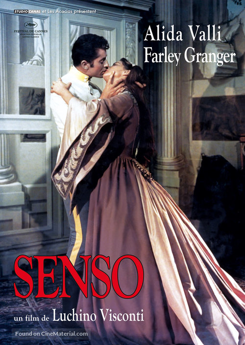 Senso - French Movie Poster