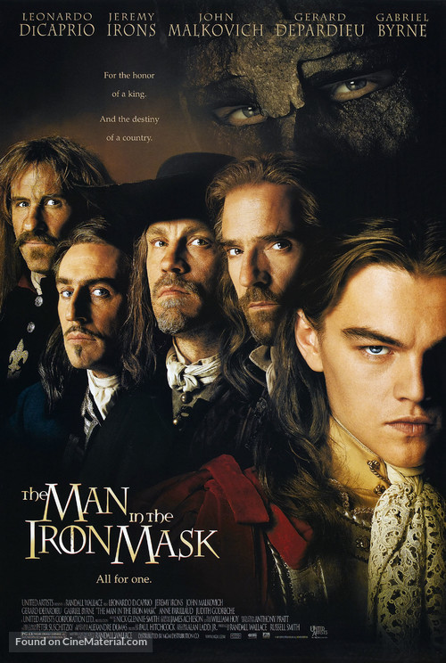 The Man In The Iron Mask - Movie Poster
