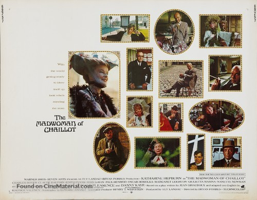 The Madwoman of Chaillot - Movie Poster