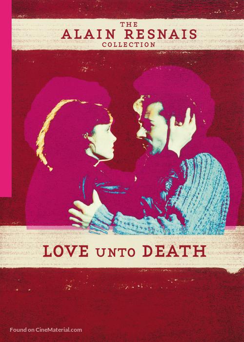 Amour à mort, L' - British Movie Cover