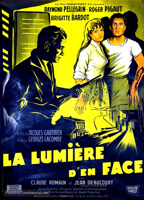 La lumière d'en face - French Movie Poster