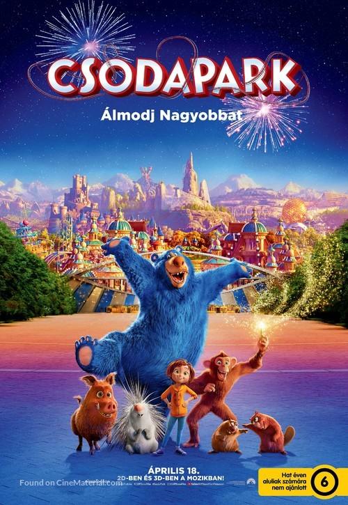 Wonder Park - Hungarian Movie Poster