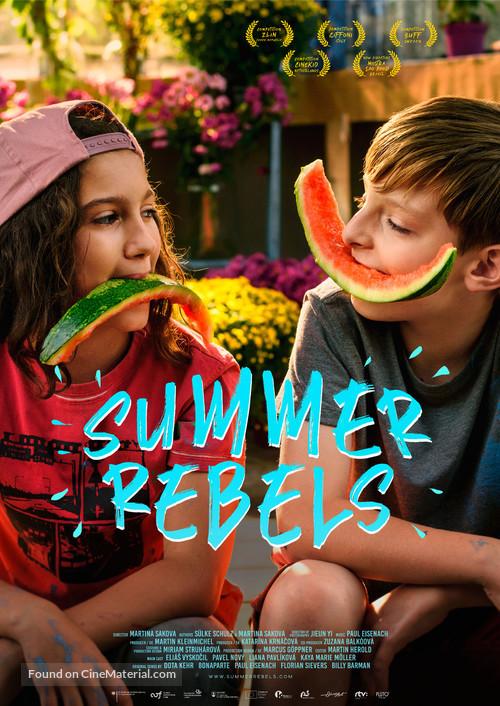 Summer Rebels - International Movie Poster