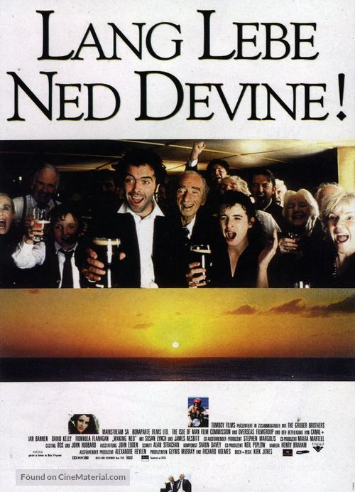 Waking Ned - German Movie Poster