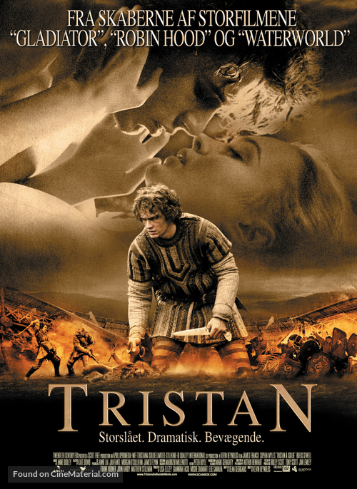 Tristan And Isolde - Danish poster