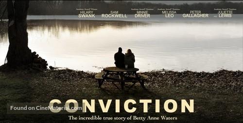 Conviction - Movie Poster