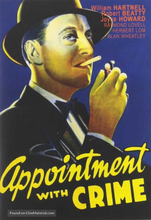 Appointment with Crime - DVD movie cover