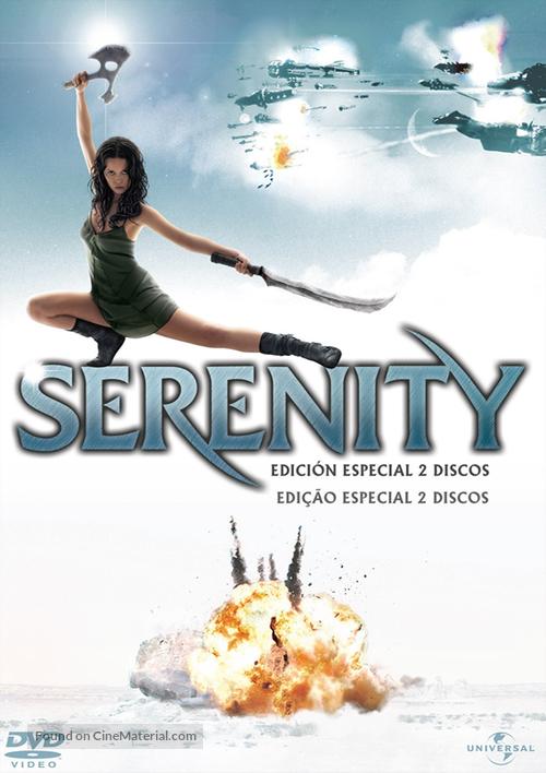Serenity - Spanish DVD movie cover