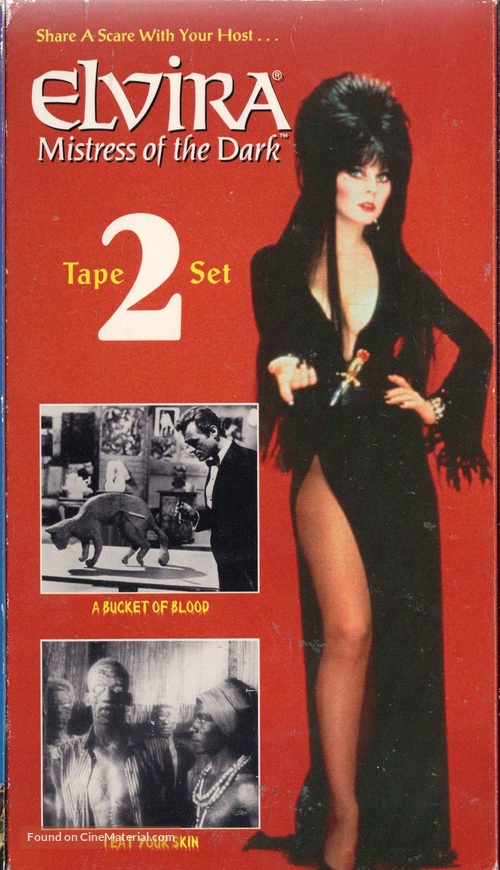 A Bucket of Blood - VHS cover