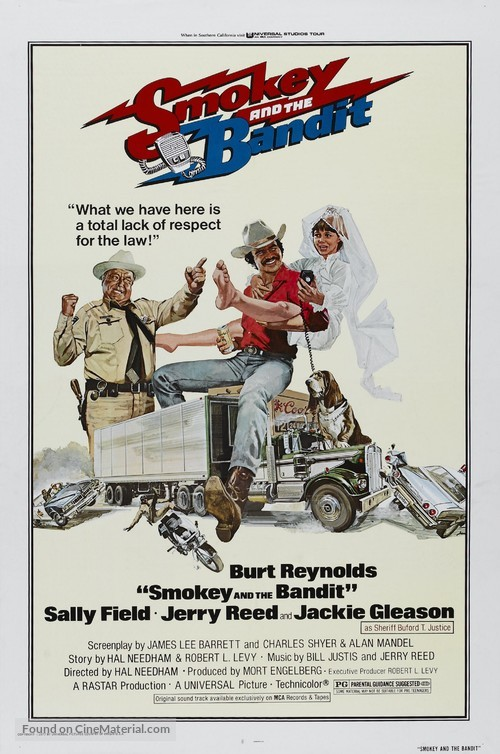 Smokey and the Bandit - Theatrical movie poster
