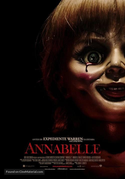 Annabelle - Spanish Movie Poster
