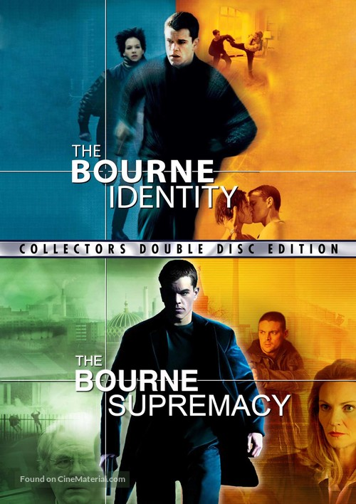 The Bourne Identity 2002 Dvd Movie Cover